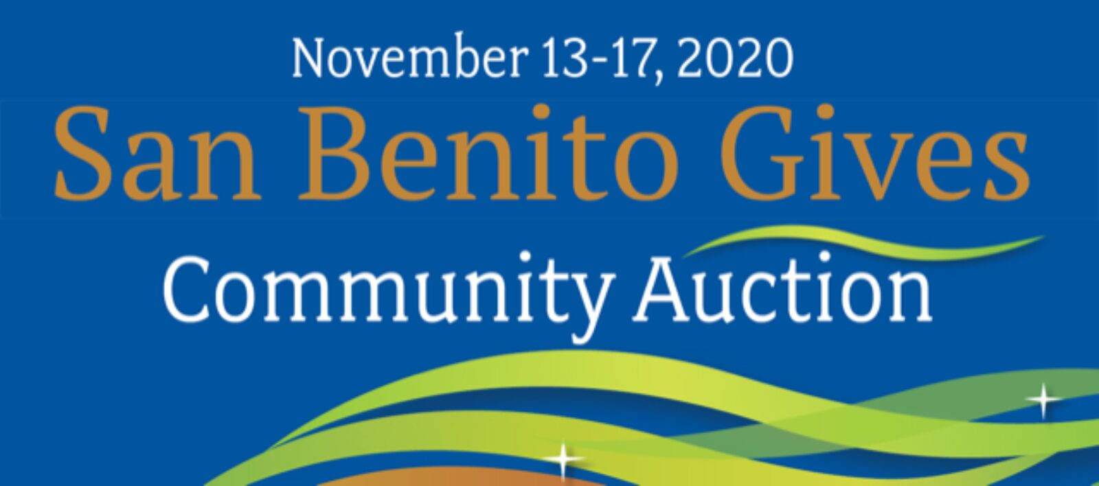 San Benito Gives Community Auction Goes Online