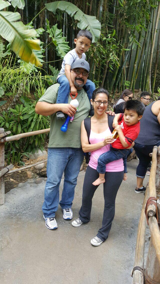 Garcia Family Disney Photo 2