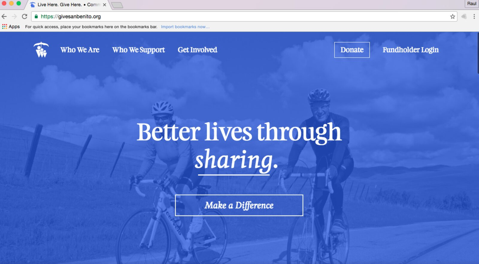 Website Highlights Philanthropy In San Benito County
