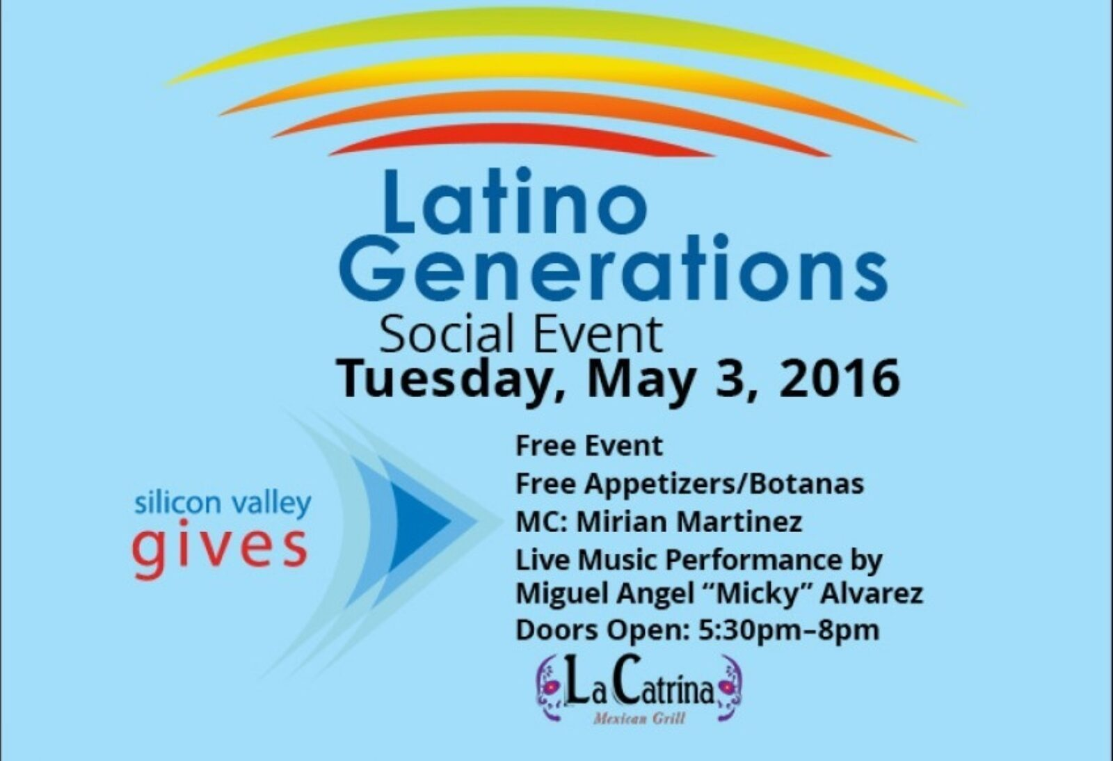 Latino Generations Social Event May 3