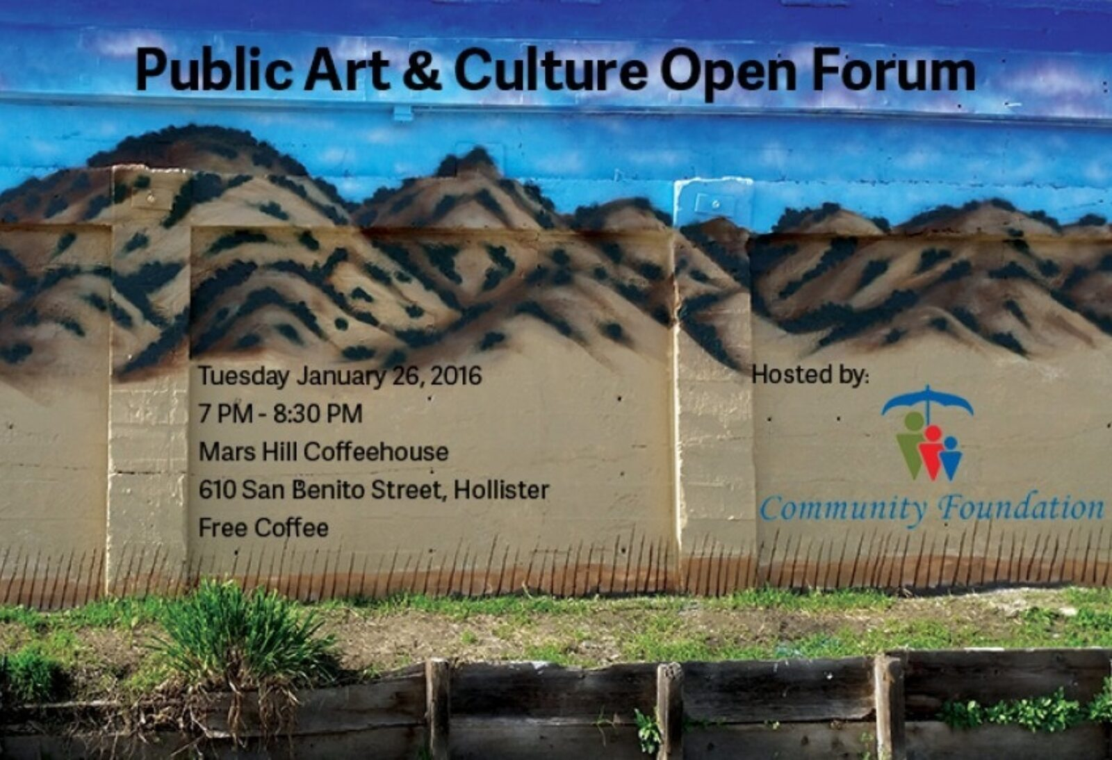 Community Cares About Public Art & Culture